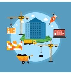 House Construction Concept vector image