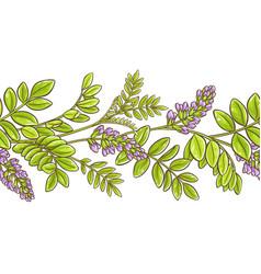 Licorice pattern vector