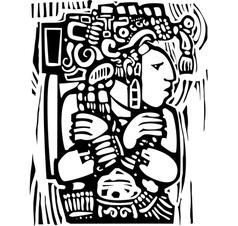 Maya Torso vector