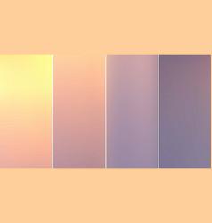 mobile interface wallpaper design vector image