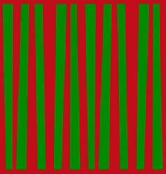Red and green vertical striped background vector