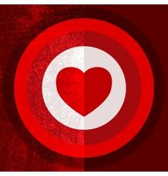 Valentine Target Half vector image