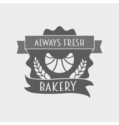 Bakery Retro Label logo or badge vector image vector image