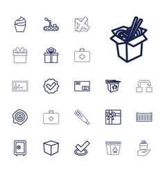 22 box icons vector
