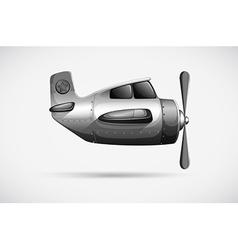 A grey propeller vector