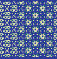 decorative squares seamless pattern lace vector image