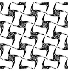 Design seamless vortex movement pattern vector