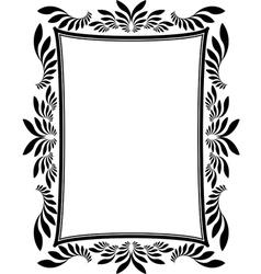 Frame rectangular vector