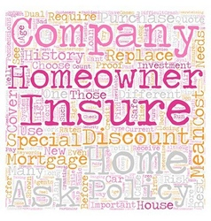Homeowners Insurance Company How To Choose One vector image