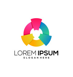 New icon logo colorful vector