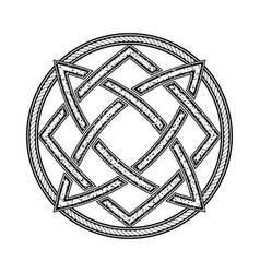 sacred geometry 0186 vector image
