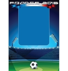 Soccer Background Template vector