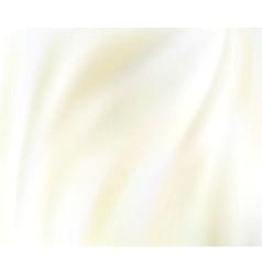 White silk background vector
