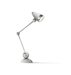 table lamp isolated on white background vector image