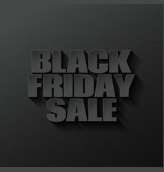black friday logo lettering design black vector image