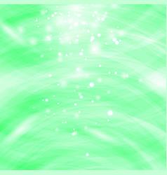 green burst blurred background sparkling texture vector image