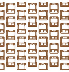 atm pattern background vector image