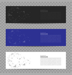 banner design background vector image