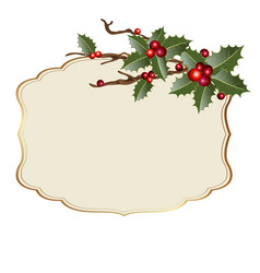 christmas backdrop vector image