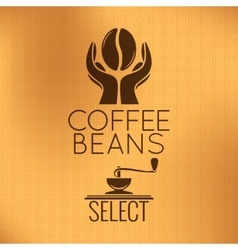 Coffee Bean Concept Machine Background vector
