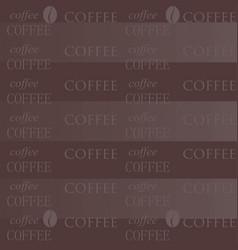 Coffee wallpaper chocolate vector
