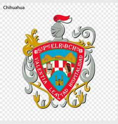 Emblem of chihuahua vector