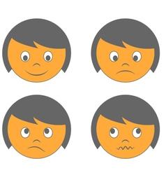 Emoticons vector