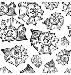 Hand drawn - seamless pattern vector