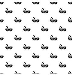 night mask carnival pattern seamless vector image