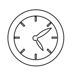 School clock date hour time icon vector
