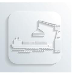 shipment icon vector image