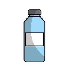 Water bottle drink icon vector