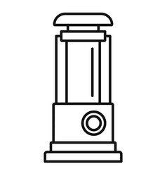 Water pump icon outline style vector
