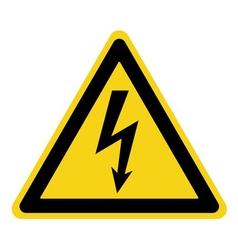 danger electricity sign vector image