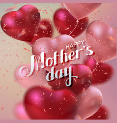 happy mothers day vector image