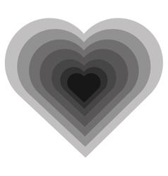 hearth icon design vector image