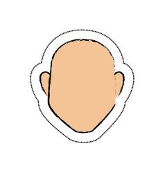 man avatar character icon vector image