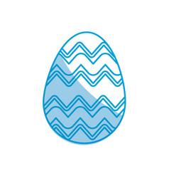 easter egg celebration spring party vector image