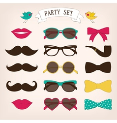 Party set vector image vector image