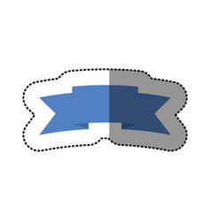 color symbol ribbon icon vector image
