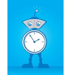 Reminder Robot vector image vector image