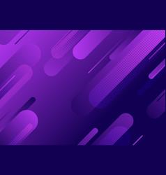Abstract fluid wavy line pattern purple vector