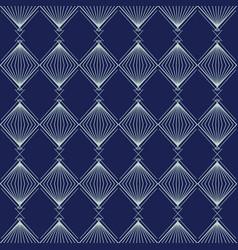 Art deco seamless pattern geometrical background vector