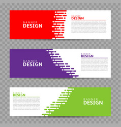 banner design background vector image