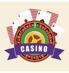 Casino gambling game vector image