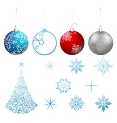Collection christmas vector