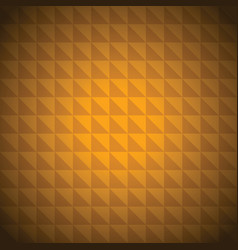 orange triangle background vector image