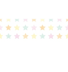 Stars textile textured pastel horizontal seamless vector image