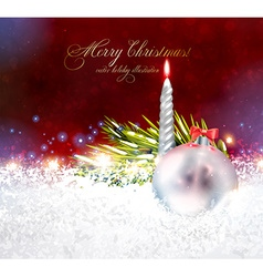 Traditional Christmas Background vector