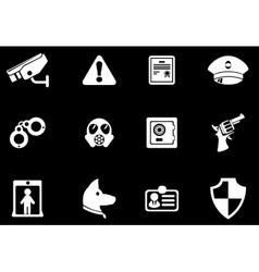 Security symbols vector image vector image